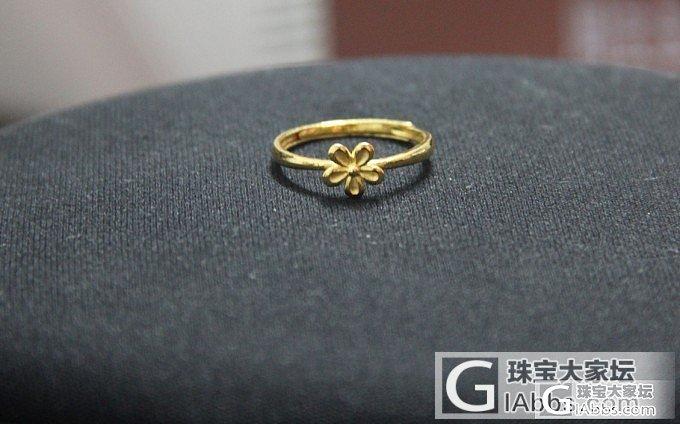 趁香港金价下跌,(13100港币/两)入手的金子~_金