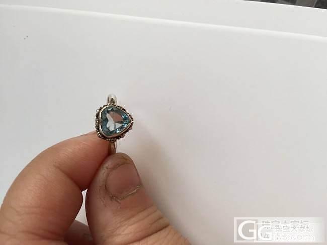 求问这是天空蓝还是瑞士蓝?_托帕石刻面宝石