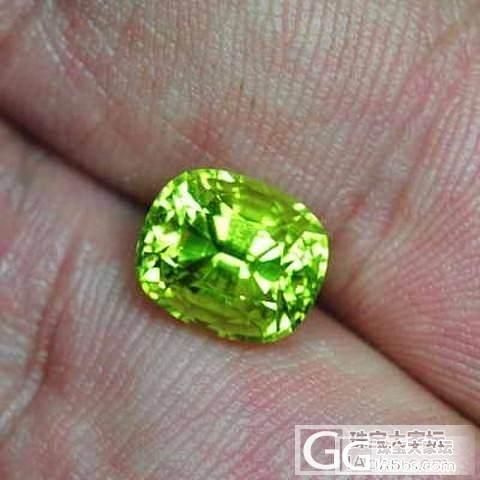 刻面金绿宝石算是比较小众的吧?_金绿宝石
