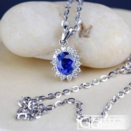 蓝宝石戴妃款套装特惠28000米,速..._珠宝
