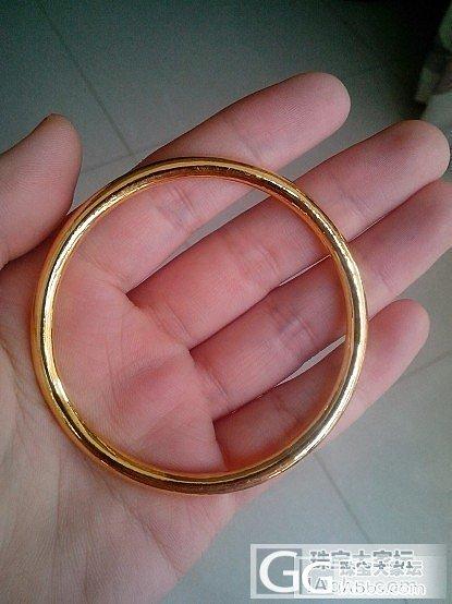 金胖,小戒指 ------ 来自南京..._金手镯戒指