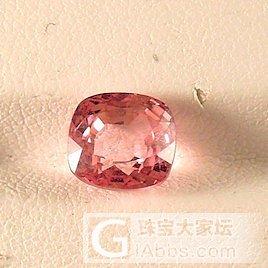 2.14克拉padparadscha..._戒指尖晶石刻面宝石