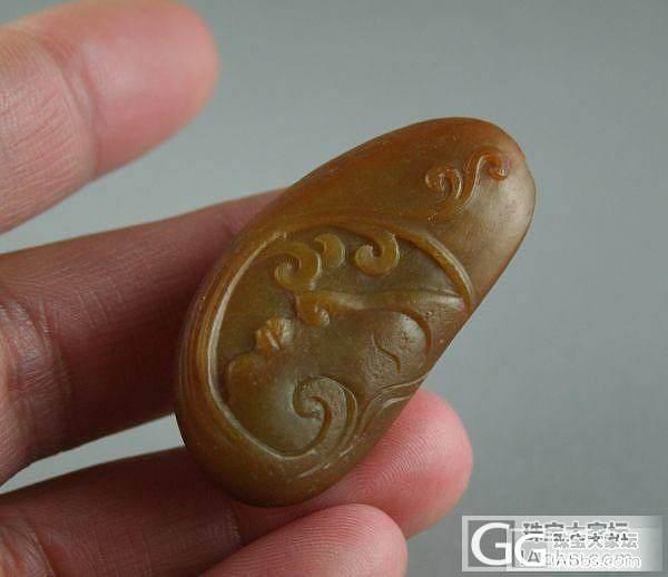 800脂白莲蓬、600元龙首坠、23..._传统玉石