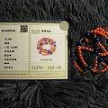 红珊瑚青金石珠链手链项链3500元出