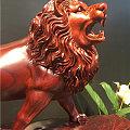 闲时手工 雕了件 另类红毛《狮子王》求指导